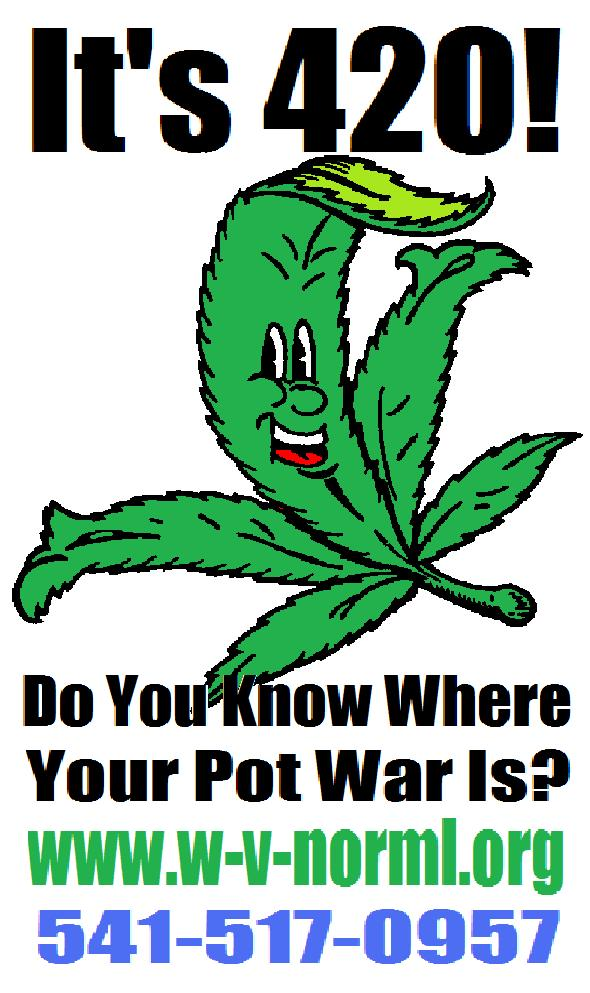 It's 420!  Do You Know Where Your Pot War Is?