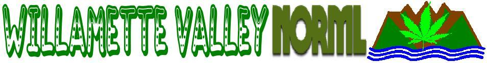 Welcome to the Links Home page for Willamette Valley NORML.  Click here to go Home